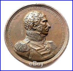 40. Médaille. LES VICTOIRES D'ANDRE MASSENA MARECHAL D'EMPIRE 1817- JALEY