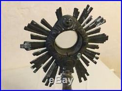 #Ancien Ostensoir reliquaire XIXe Siècle bronze argenté