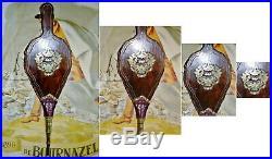 Ancien Soufflet Domestique Pour Cheminée. Style Louis Xiv. Du XIX Ème Siècle. Rare