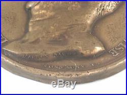 Belle Médaille Bronze MARÉCHAL MORTIER DUC DE TRÉVISE F. MONTAGNY Daprès Nature