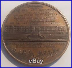 Belle médaille XIXe Louis Antoine de France Trocadero signée Barre 1826
