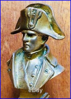Buste En Bronze De Napoléon 1er Signé Pinèdo-fin XIX Ème Siècle