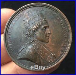 Empire Napoleon Ier Médaille Le Pape visite la Monnaie des médailles 1805