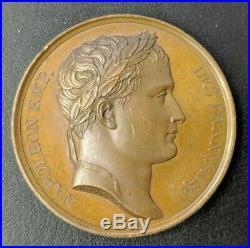 Empire Napoléon Ier Médaille Le couronnement 1804