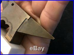 Enclume de Bijoutier de Maîtrise XIX ème Siècle Bronze Antique Anvil Miniature