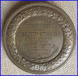 Grande Médaille Abraham Lincoln USA AMERIQUE 1861-1865