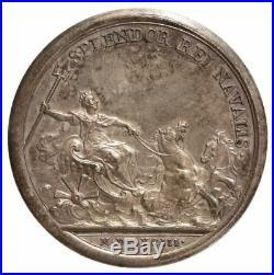 LOUIS XIV, médaille de la Marine florissante, 1693
