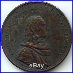 Louis XIV Médaille par Bernard Guillaume de Lamoignon 1679