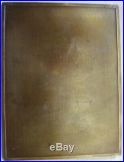 MED9158 MEDAILLE GRANDE PLAQUE VIEILLE FEMME par GEORGES PRUD'HOMME
