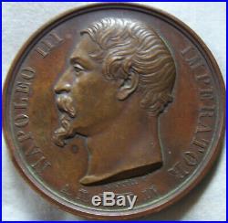 Med10137 Rare Medaille Siege De Rome 1848 Napoleon III Seditione Oppressa