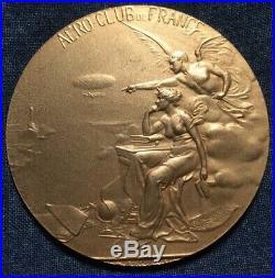 Médaille AEROCLUB DE FRANCE Grande médaille d'OR