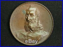 Medaille Bronze Maire De Besancon 1837 Antoine Perrenot Cardinal De Granvelle