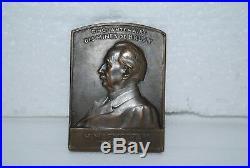 Medaille De Bronze Cinquantenaire Des Mines De Bruay H. Marmottan 1855/1905