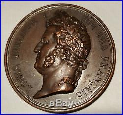 Médaille Louis Philippe 1er Pont de Nemours