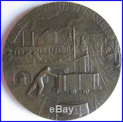 Médaille Mines, Gard, Compagnie Houillère de Bessèges, attribué en 1918