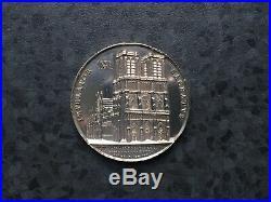 Médaille Notre-Dame de Paris Sacre Napoléon Ier par Pie VII 1804 Argent Massif