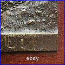 N°3009. Fonte en bronze. Guerre 1914 1918 canon le 75 (quand même)