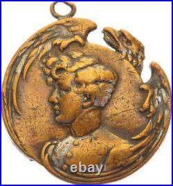 O4395 RARE Médaillon Napoléon Mort Duc Reichstadt 1832 -Faire offre