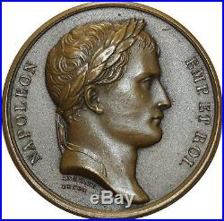 O5103 Médaille Napoleon I Orphelines Légion Honneur 1810 Andrieu Denon SPL