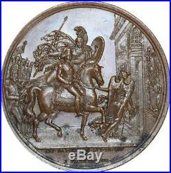 O5517 Rare Medal Louis Antoine Angoulême Trocadero Caunois 1823 Desnoyers SPL