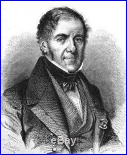O5538 Médaille Charles X Sacre Reims Gatteaux 1825 Baron Desnoyers FDC