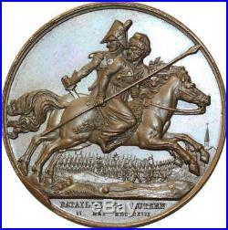 O5571 Rare Medal Napoleon I Lutzen 1813 Depaulis Brenet Desnoyers SPL