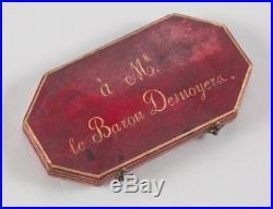 O5687 Rare Jeton Anna Dorotei von Medem Duc. Courland 1812 Laroque Desnoyers SPL