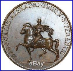 O5768 Rare Médaille Henri III Empereur Romain Alexandri Baron Desnoyers SPL
