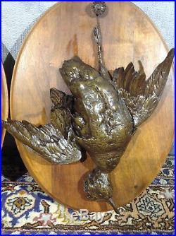 Pendants en Bronze, Epoque XIXe Siècle