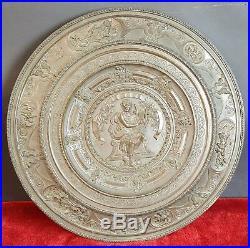 Plafond De Bronze. Apollon Jouant De La Lyre. Du Xixe Siècle