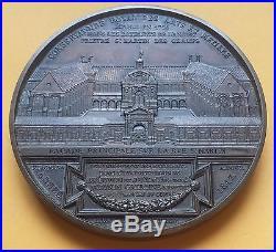 Spectaculaire médaille Louis Philippe Conservatoire Royal Arts et Métiers 1847