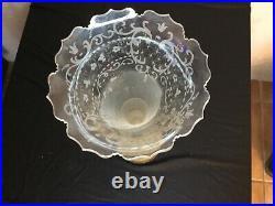# Vases Bouquetières En Cristal Et Bronze XIX Éme Siècle